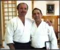 Peter Brady Sensei and Mr Smith Shihan